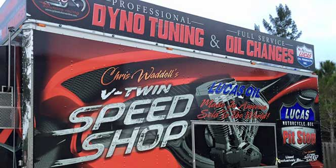 Chris Waddell's Cycle Solutions Mobile Dyno Tuner